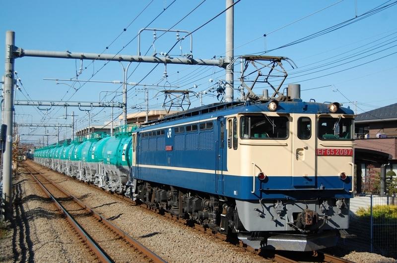 EF65 2097号機牽引8078列車