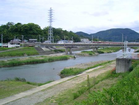 切戸橋から見た会津川