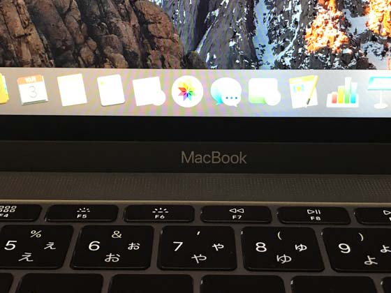 MacBook バタフライキーボード