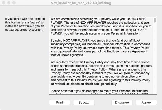 Nox Playerの利用規約