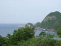 ワインディングと日本海
