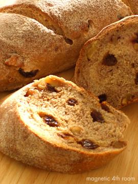 ぶどうとくるみのパン02