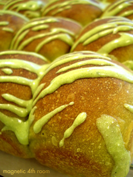 緑茶ちぎりパン01