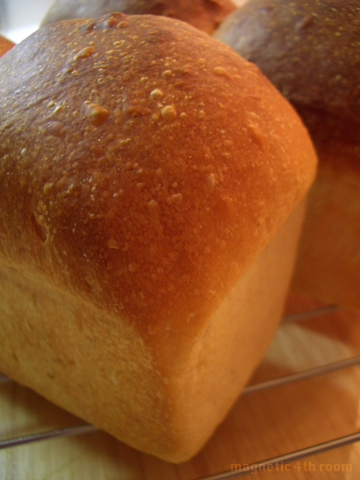 2つ山の食パン@パウンド型