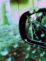 [digital cross process][Haiku]色つきの雨粒