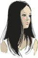 [イラスト][Haiku]はてなハイカーさん、黒髪っ娘のイラスト欲しい!