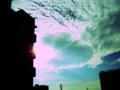 [digital cross process]今日の空