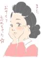 [イラスト][Haiku]サザエさんをどこまで美人に描けるか、挑戦してみようぜwww