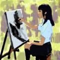 [イラスト][Haiku]女子高生とか好きだから女子高生のイラストとか描く