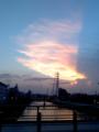 [Haiku]夕空 夕焼け雲