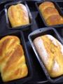 [パン][Haiku]バタートップ、くるみ、三つ山、シュガーツイスト