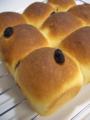 [パン][Haiku]ちぎりレーズンパン