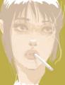 [イラスト][Haiku]はてなハイカーさん、目つき悪い女の子のイラスト欲しい!