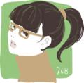 [イラスト][Haiku]2011年だから2011枚のめがねっ娘の絵を描くよ