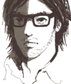 [イラスト][Haiku]2011年だけど2011枚もめがね男描かないよ