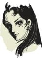 [イラスト][Haiku]好きな脇役 ジャンヌ・バロア(ベルばら)