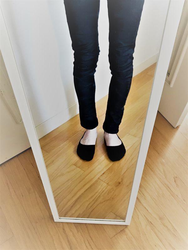 ユニクロ ベリーショートソックス 履いてみた