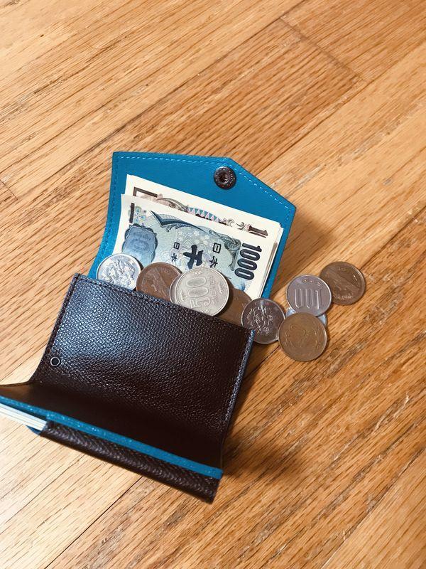 abrAsus アブラサス 小さい財布 小銭