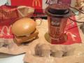 [食][マクドナルド]フィレオフィッシュとマックカフェのストラップ