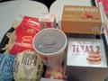 [食][マクドナルド]テキサス2バーガーセットとその他