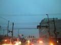 [東北地方太平洋沖地震][3.11]計画停電 (3/15) 道路の様子