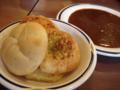 [食][食べ放題][ファミレス][ガスト]ステーキガスト フォカッチャとカレー