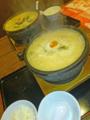 [食][ラーメン][石焼らーめん火山]石焼野菜味噌らーめん