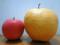 リンゴと新興梨を比べて見る