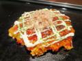 [食][KANSAI][お好み焼き]もちチーズお好み焼き