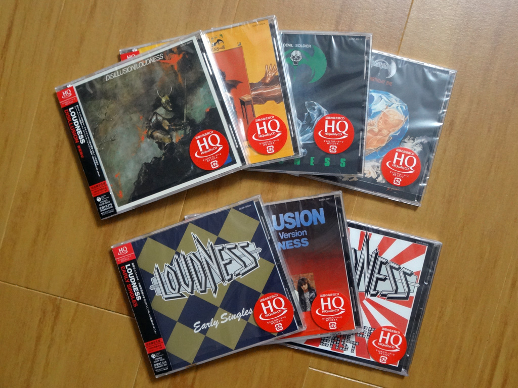 LOUDNESS HQCD (COLUMBIA)