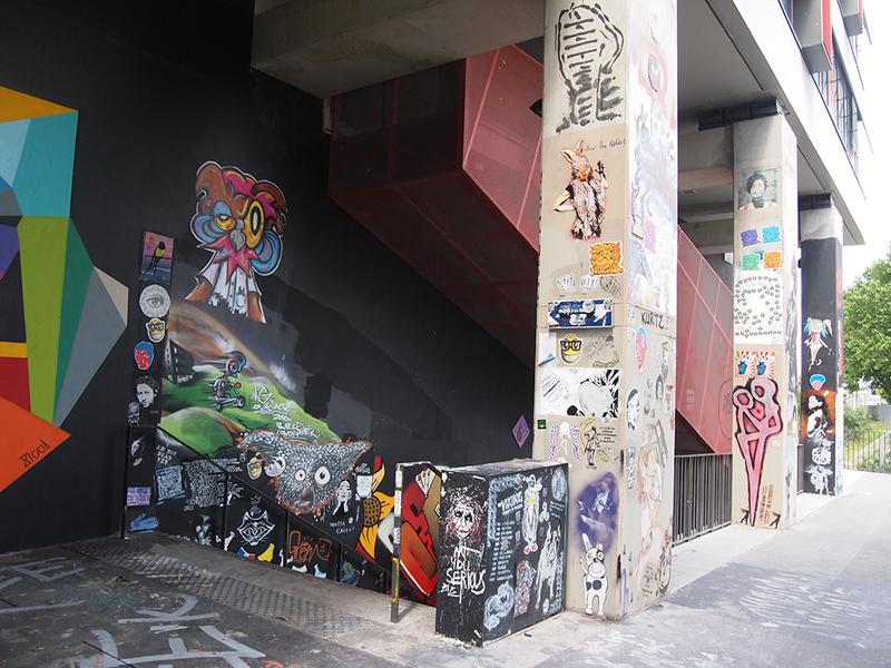 Galerie Itinerrance 周辺