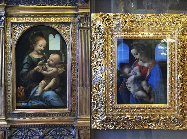 ブノアの聖母・リッタの聖母