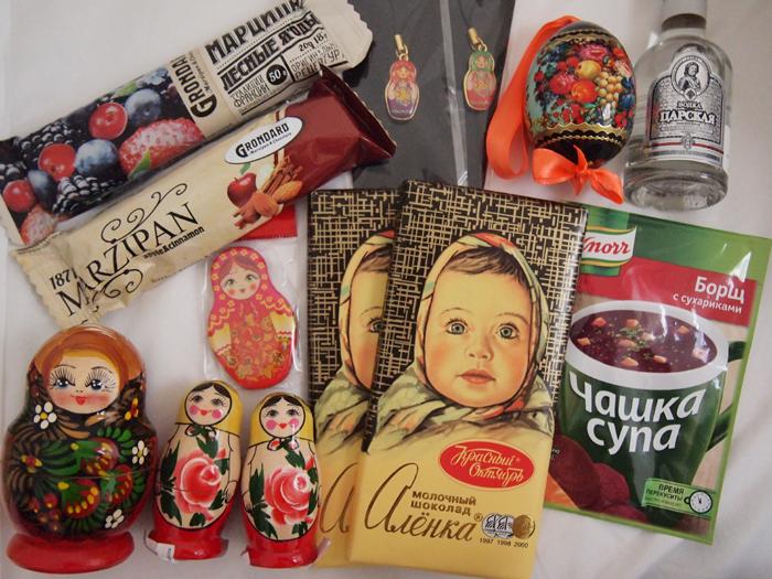 ロシア土産