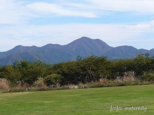 長野県の雄大な山の写真