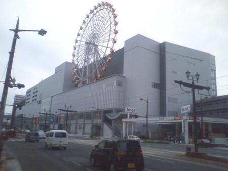 みらい長崎ココウォークオープン前日の風景