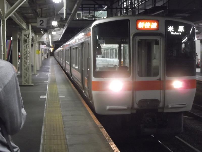 311系 新快速 米原行き(G9・クハ310-9)