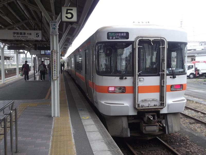 キハ25形1000番台 ワンマン普通 伊勢奥津行き(M4・キハ25-1012)