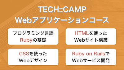 テックキャンプのWebアプリ