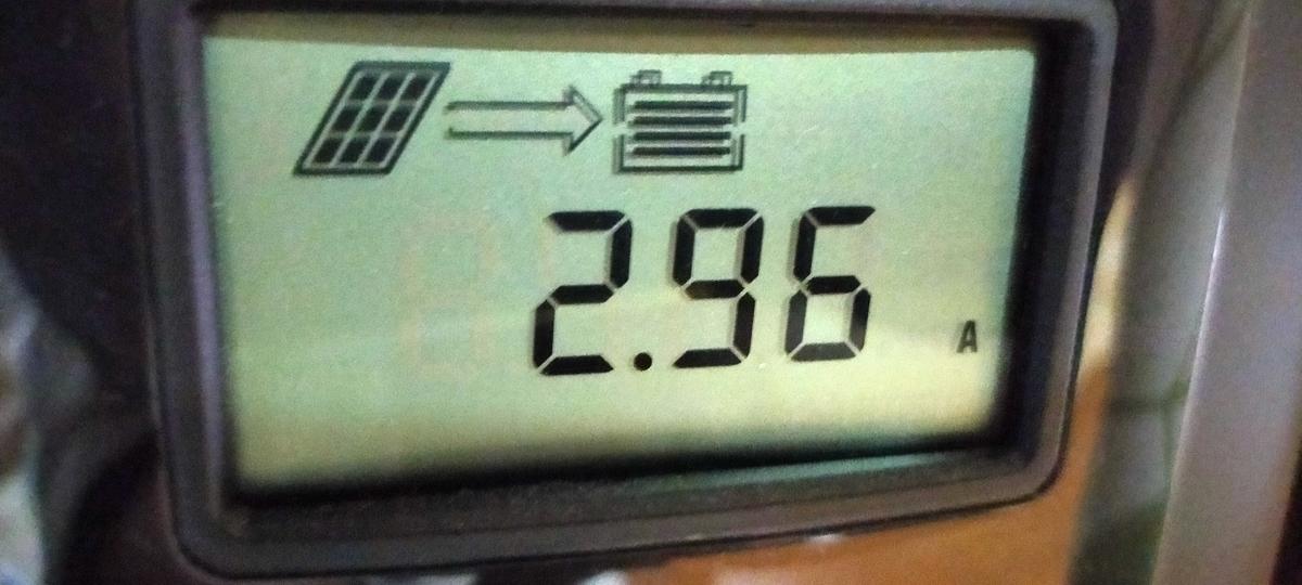 RENOGY MPPTチャージコントローラー 2.96A発電