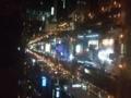 札幌テレビ塔より大通公園夜景