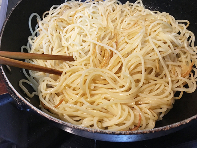 【昭和な喫茶店ナポリタン】焼きスパゲティ完全レシピ【超アバウト】