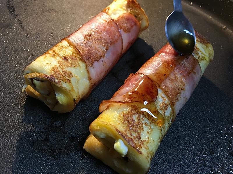 甘辛くて激しくうまい「フレンチトースト・ベーコン巻き」【料理解析】