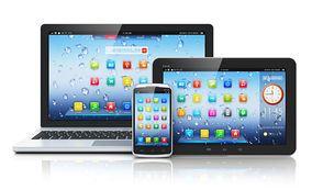 PCを含む3種類のデバイス