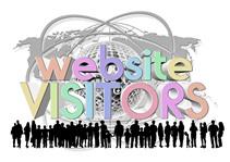 多くの訪問者を集めるウェブサイトのイメージ