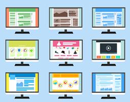 ウェブデザインのイメージ