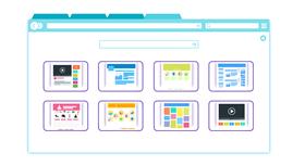 豊富なブログデザインのイメージ