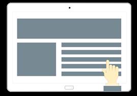 ウェブデザインのカスタマイズのイメージ