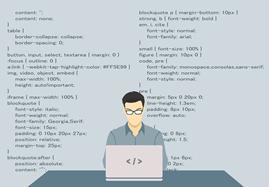 muragonブログを改造している人のイメージ