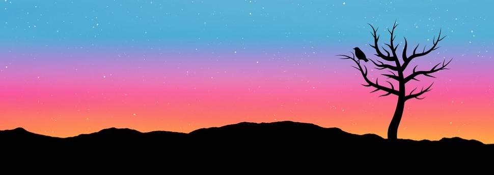 旅路の夜空ヘッダー
