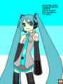 MS Paint Hatsune Miku (for RainbowTVGirl)